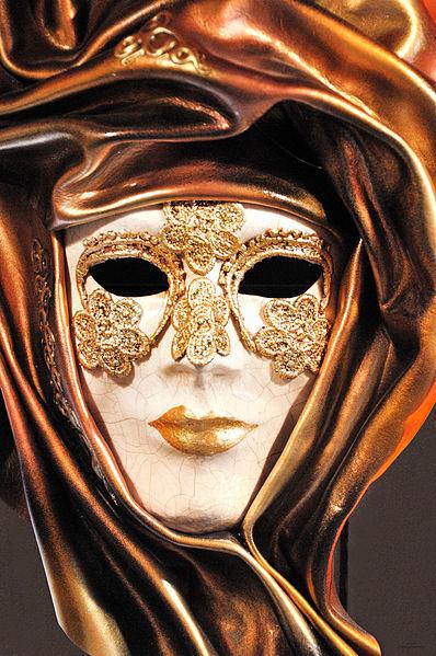 File:Venetian Carnival Mask - Maschera di Carnevale - Venice Italy - Creative Commons by gnuckx (4820456037).jpg