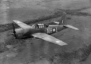 Vengeance bomber of 12 Sqn RAAF in flight 1943.jpg