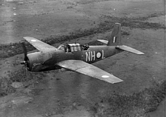 No. 1340 Flight RAF - A Vengeance dive bomber of the RAAF in 1943