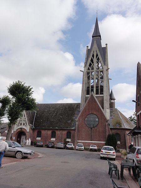 Vermand (Aisne) église Sainte-Marguerite