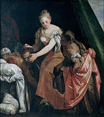 Veronese (Paolo Caliari) - Judith and Holofernes - Google Art Project.jpg