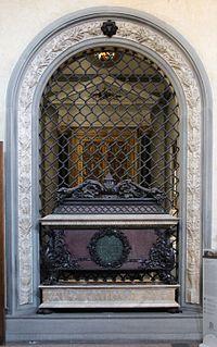 Verrocchio, tomba di piero e giovanni de' medici, lato interno, 1469-1472, 00.jpg