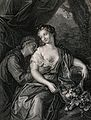 Vertumnus and Pomona as lovers. Engraving by M. Pool after J Wellcome V0025773.jpg