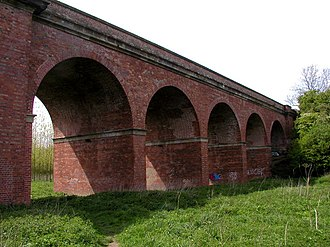 Stamford Bridge, East Riding of Yorkshire - Image: Viaduct Arches at Stamford Bridge geograph.org.uk 278531