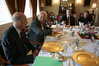 Henry Paulson - Paulson with Dick Cheney, July 12, 2006