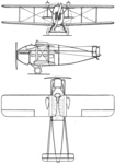 Vickers Vulcan 3-view Les Ailes July 6,1922.png