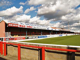 Victoria Road, Dagenham - Image: Victoria Road North Stand