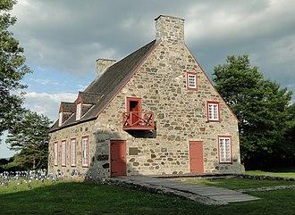 Deschambault-Grondines - Image: Vieux presbytère de Deschambault 03