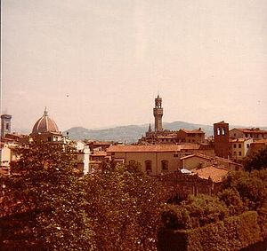 English: Florence, viewed from the Pitti Palac...