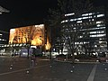 View in front of Hakata Station at night 20190401.jpg