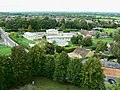 View north-north-west from St Sampson's tower, Cricklade - geograph.org.uk - 1476452.jpg