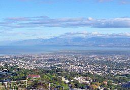 Vy over Port-au-Prince.