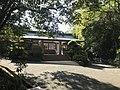 View of gate of Oyamazumi Shrine Museum.jpg