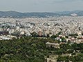 View on Agora and City of Athens from Acropolis (14211587292).jpg