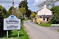 Village sign - Llanmaes - geograph.org.uk - 1297966.jpg