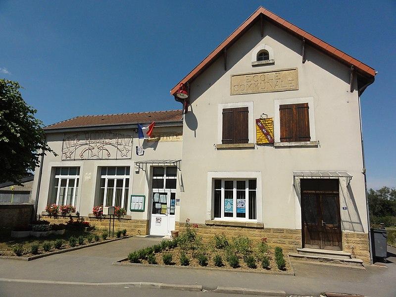 Ville-Houdlémont (Meurthe-et-M.) mairie-école