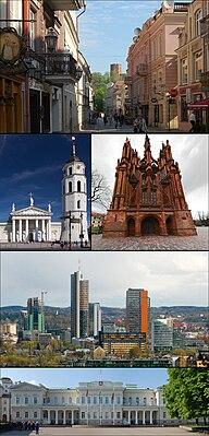 Vilnius montage