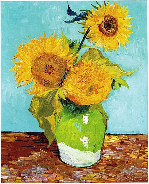 File:Vincent Van Gogh - Three Sunflowers F453.jpg