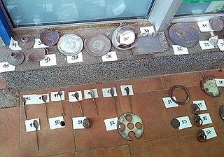 Hoard of Roman silver plate