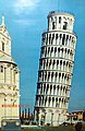 "Vintage Store Display Poster For the RCA ""Midshipman"" Vacuum Tube Portable Radio, Pictured Against A Photo Of The Tower Of Pisa, Circa 1956 (14585970473).jpg"