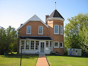 Virden, Manitoba - Exterior of the Virden Pioneer Home Museum