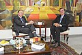 Visitas. Visitantes - José Maria Eymael com Fernando Collor no Senado (15820582311).jpg