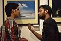 Visitors - Group Exhibition - PAD - Kolkata 2016-07-29 5504.JPG
