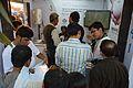 Visitors - Wikimedia Stall - 38th International Kolkata Book Fair - Milan Mela Complex - Kolkata 2014-02-03 8272.JPG