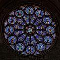 VitrailRosaceEst Cathédrale Saint-Pierre Montpellier (France).jpg