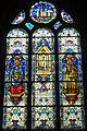 Vitrail de l'église Saint-Georges, Saint-Georges-sur-Eure, Eure-et-Loir (France)..JPG