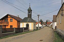 Vlčeves, main street.jpg