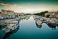 Vue du Canal du Rhône à Sète, à Beaucaire.jpg