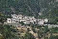 Vue du village de La Croix-sur-Roudoule depuis la route de Saint-Léger (zoom).jpg