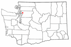 Location of North Lakewood, Washington