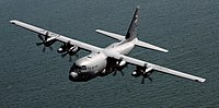 WC-130J Hercules of the 53rd Weather Reconnaissance Squadron.jpg