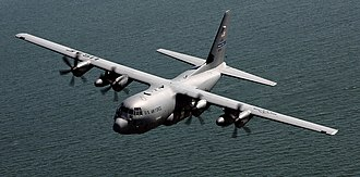 Weather reconnaissance - A WC-130 Weatherbird hurricane hunter