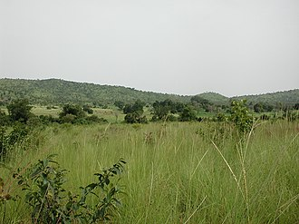 Gbomblora Department - Landscape near Gbomblora town on the road between Batie and Gaoua
