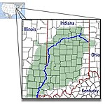 Wabash River and watershed