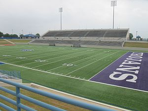 Waco Independent School District - Waco ISD Stadium, Visitor Stand, 2016 Waco, Texas