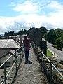 Walking the walls - geograph.org.uk - 913744.jpg