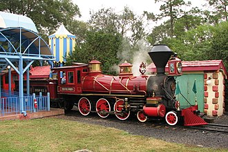 Walt Disney World Railroad - Image: Walt Disney World Railroad train