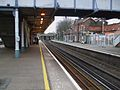 Wandsworth Common stn northbound slow platform look north2.JPG