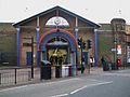 Wandsworth Town stn entrance.JPG