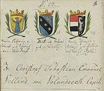 Wappenbuch RV 18Jh 16r Voland Ehefrauen.jpg