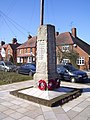 War memorial in Hook - geograph.org.uk - 1746694.jpg