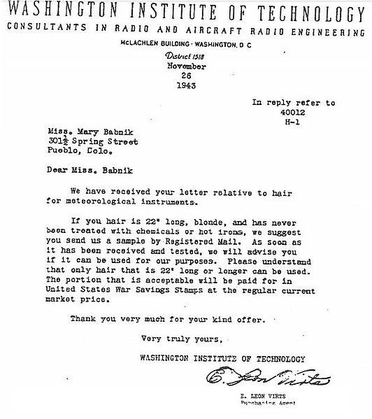 File:Washington Institute of Technology letter 11 26 1943.jpg