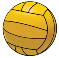 Water polo ball icon.png