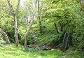 Waterfall and brook SW of Baileouchdarach - geograph.org.uk - 465071.jpg
