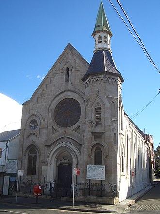 Waterloo, New South Wales - Image: Waterloo church