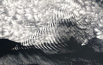 Wake - Image: Wave cloud